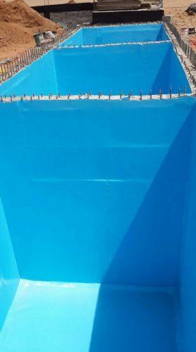 عزل مائي للخزانات