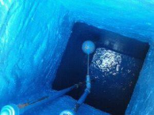 كيف أعالج خزان الماء المثقوب