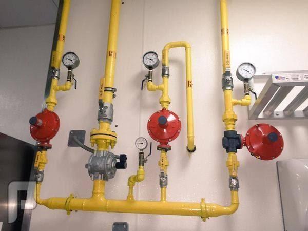 أنواع مواسير الغاز