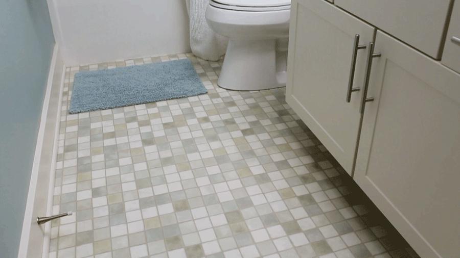 طرق غسيل ارضيات الحمام