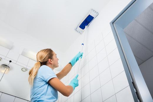كيفية تنظيف اسقف الشقق